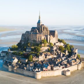 Frankreich Mont Saint Michel Burg