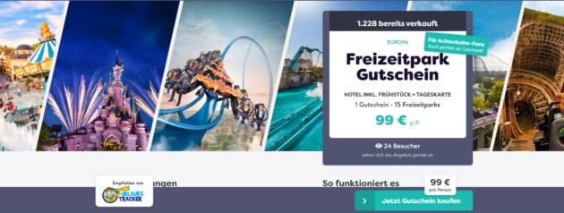 Freizeitpark Gutschein