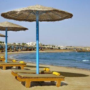 Sonne tanken in Ägypten: 1 Woche im TOP 4* Hotel mit All Inclusive, Flug, Transfer & Zug nur 477€