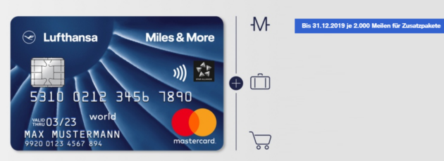 Miles More Blue Card