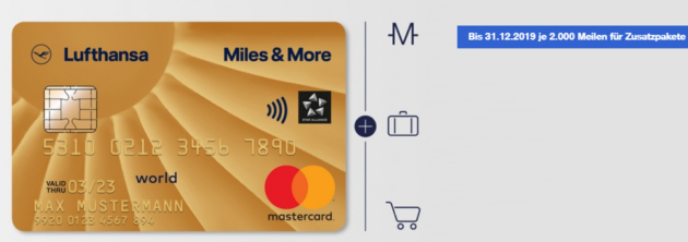 Miles More Gold Card