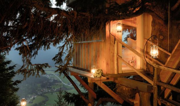 Baumhaushotel Österreich