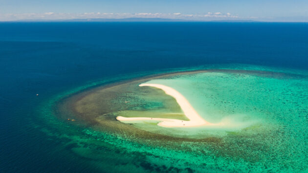 Philippinen White Island oben