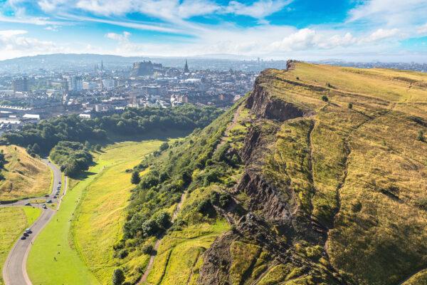 Schottland Edinburgh Arthus Seat