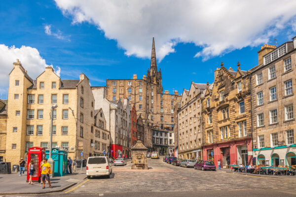 Schottland Edinburgh Grassmarket