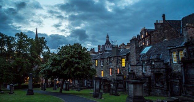 Schottland Edinburgh Greyfriars