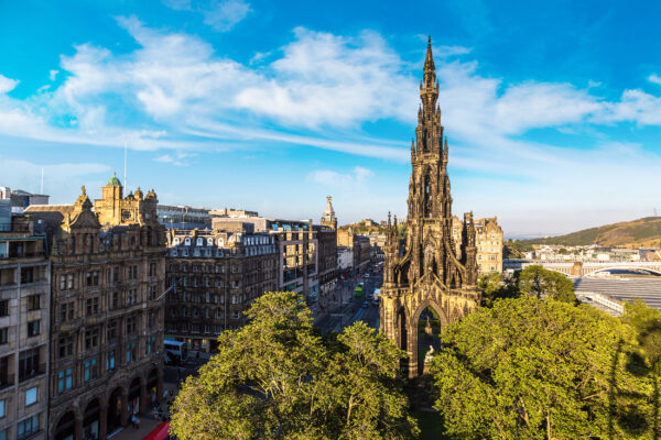 Schottland Edinburgh Scott Monument