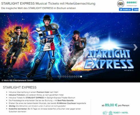 Screenshot Musical Starlight Express