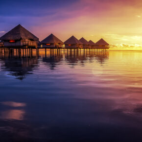 Tahiti Hütten
