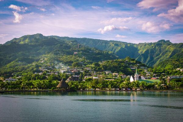 Tahiti Papeete vom Meer
