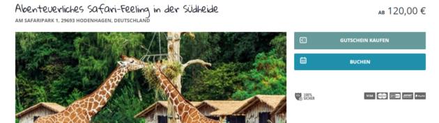 2 Tage Serengeti Park