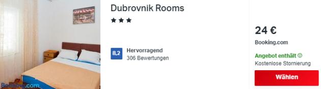 3 Tage Dubrovnik Hotel