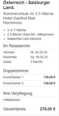 4 Tage Salzburger Land