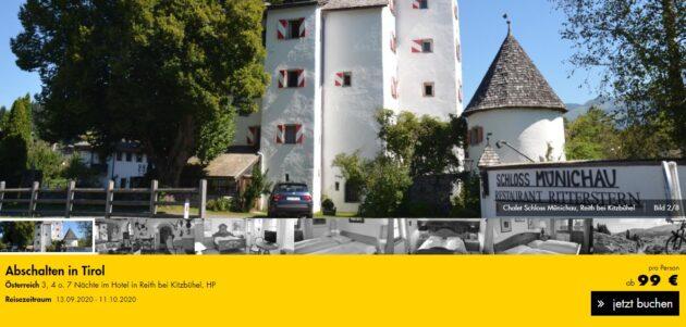 4 Tage Tirol