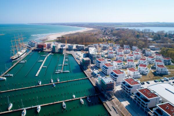 Luftaufnahme Waterfront TDE