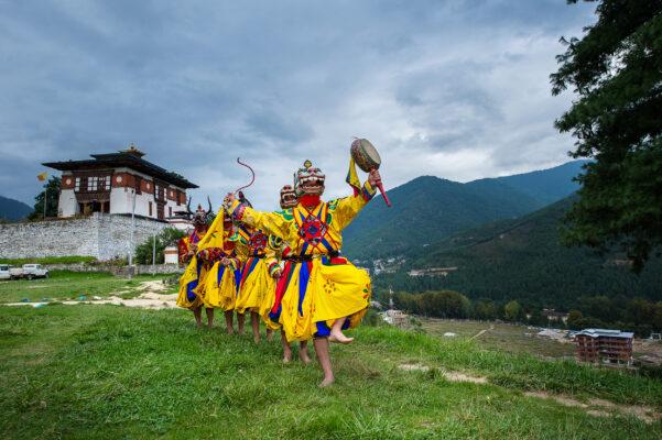 Bhutan Mongar Tanz