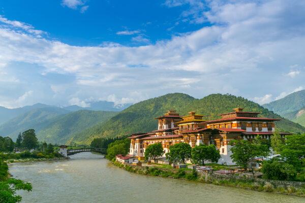 Bhutan Punakha Dzong Kloster