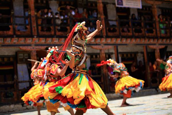 Bhutan Thimphu Tsechu Festival