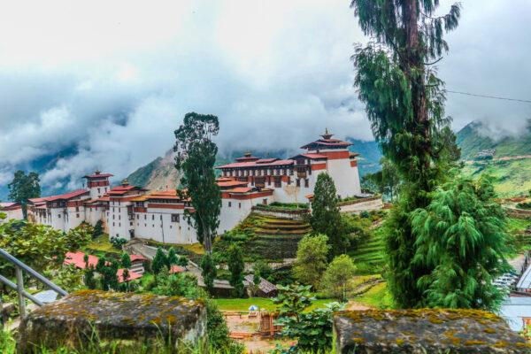Bhutan Trongsa Zong