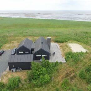 Dänemark Römö Strandhaus von oben
