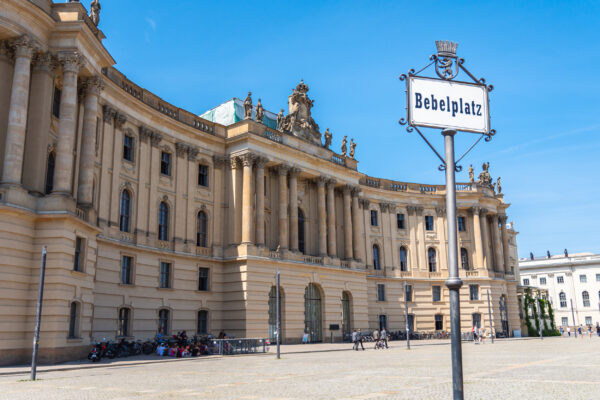 Deutschland Berlin Bebelplatz