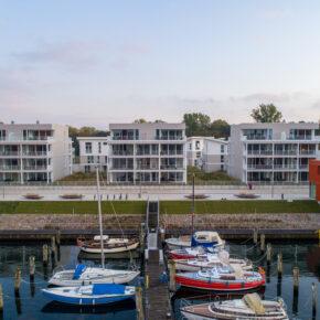 Deutschland Travemünde Ferienwohnung Hafen