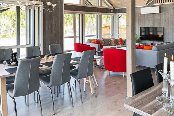 Ferienhaus Norwegen Skibotn innen