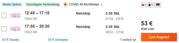 Flug Dortmund Heraklion