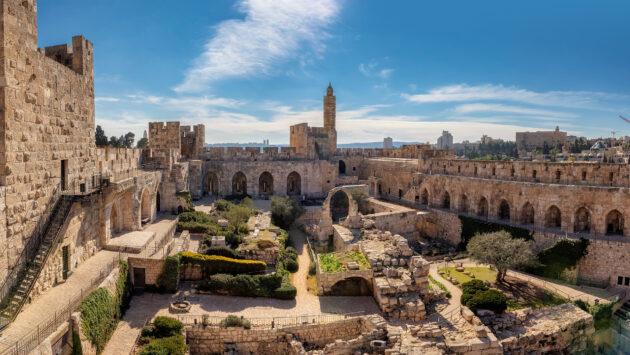 Israel Jerusalem Davidszitadelle