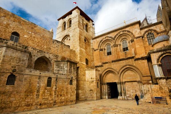 Israel Jerusalem Grabeskirche