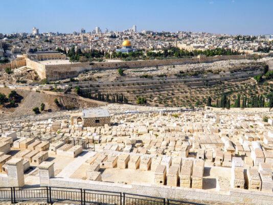 Israel Jerusalem Ölberg