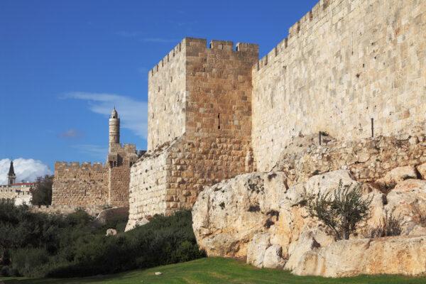 Israel Jerusalem Stadtmauer