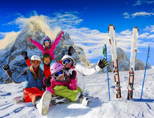 Italien Trentino San Martino di Castrozza Skifahren
