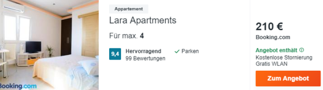 kroatien apartment schnaeppchen