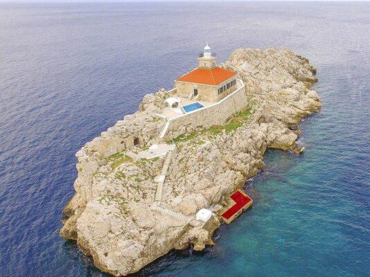 Kroatien Leuchtturmvilla Insel