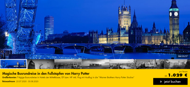 London Harry Potter