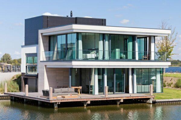 Niederlande Wasservilla Haus