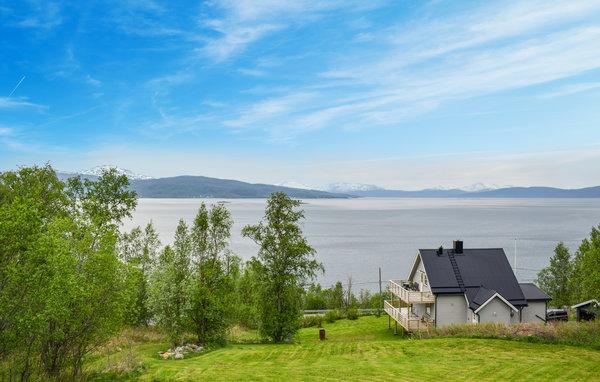Norwegen Ferienhaus Ballangen Ausblick