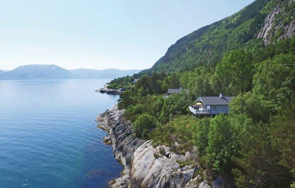 Norwegen Ferienhaus Indre Hellebo-panorama
