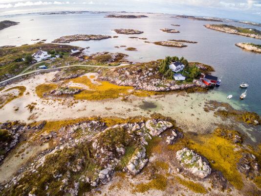 Norwegen Insel Hitra
