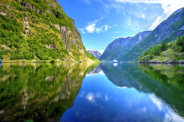 Norwegen Naeroyfjord