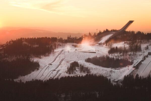 Norwegen Oslo Holmenkollen