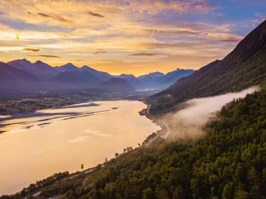 Norwegen Romsdalsfjord