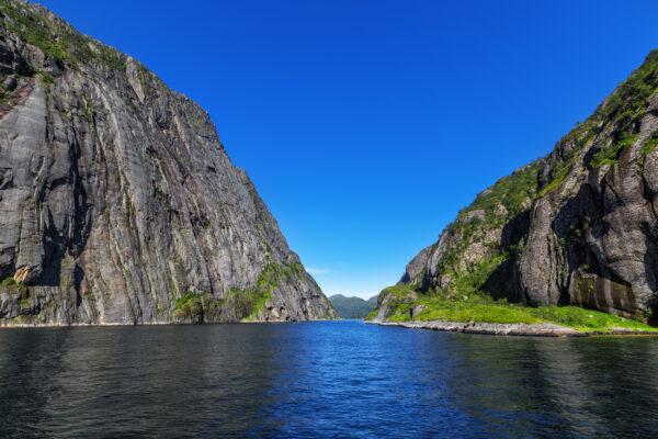 Norwegen Trollfjord