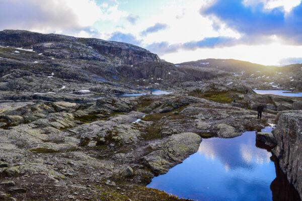 Norwegen Trolltunga Wanderwege