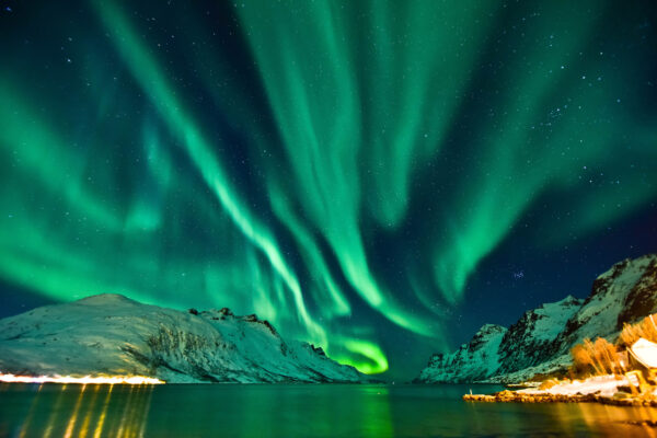 Norwegen Tromso Polarlichter