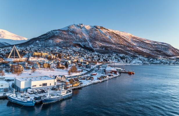 Norwegen Tromso Stadt