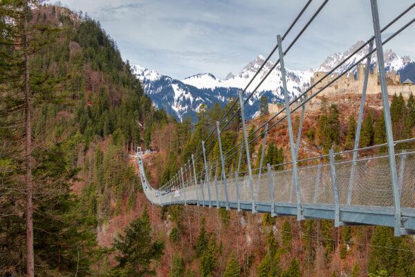 Österreich Tirol Reutte Brücke