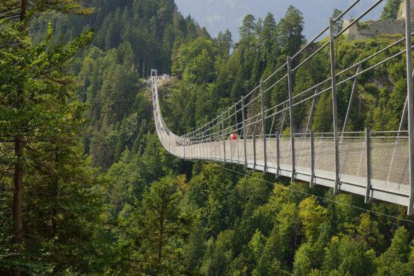 Österreich Reutte Hängebrücke