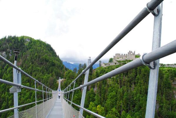 Österreich Reutte Highline 179 Brücke